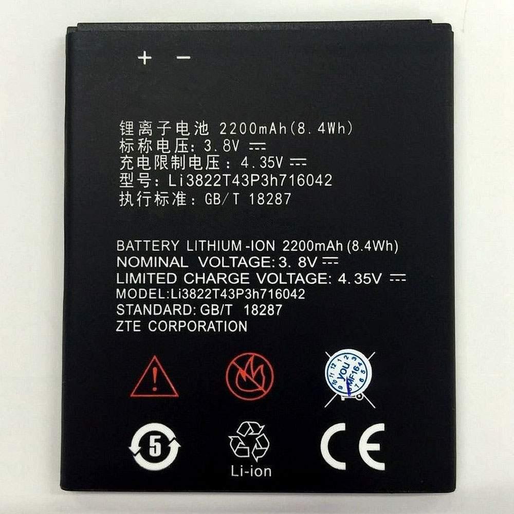 Li3822T43P3h716042 for ZTE Blade D6 Lite 4G