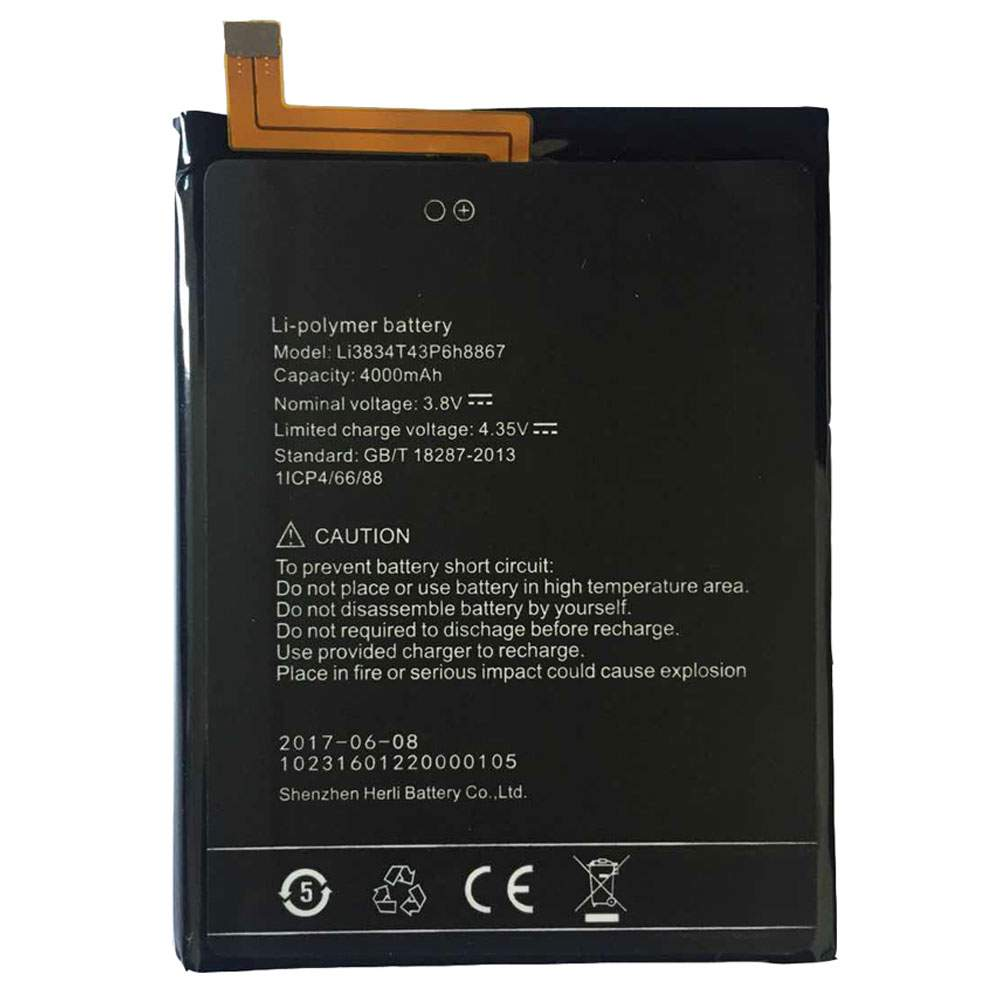 Li3834T43p6H8867 for UMI super/ max