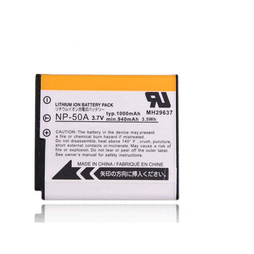 NP-50 for Fujifilm NP-50A F665 F750 F75 F100 F900 XF1 X10 X20 F85