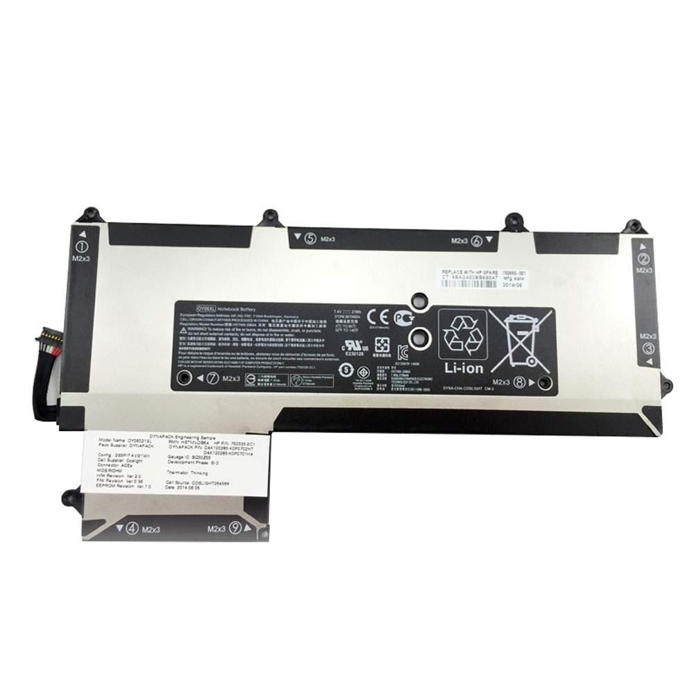 OY06XL for HP OY06XL HSTNN-DB6A 750335-2B1