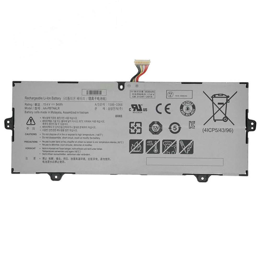 AA-PBTN4LR for Samsung NP940X3M-K01us NP940X5N-X01US NP940X5M BA43-00386A