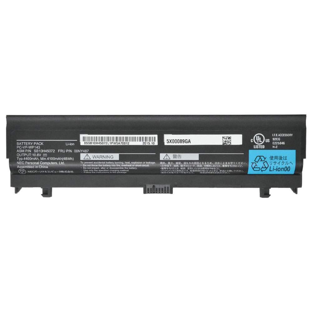 PC-VP-WP143 for NEC SB10H45072 00NY487 Series