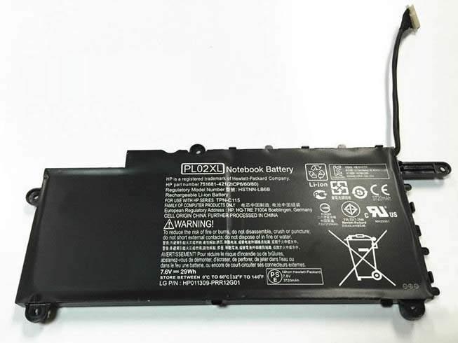 PL02XL for Hp Pavilion 11-n X360