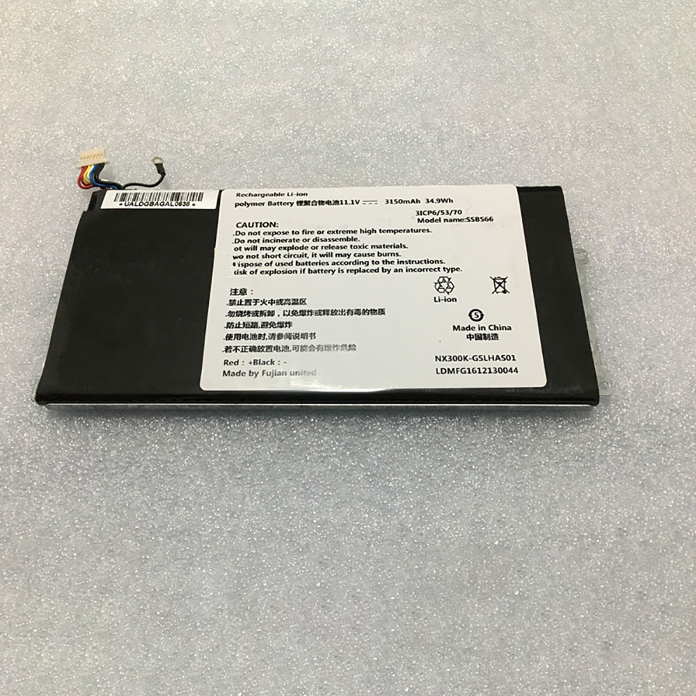 NX300K-GSLHAS01 for HASEE NX300L NX300L-3S1P-3150MAH