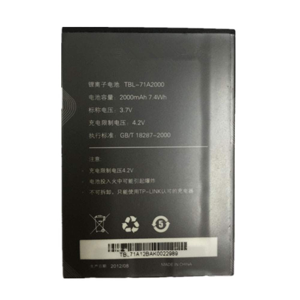 TBL-71A2000 for TP-Link TL-TR861 TL-TR761 M5350 TL-M5350 M7300 TL-M7300