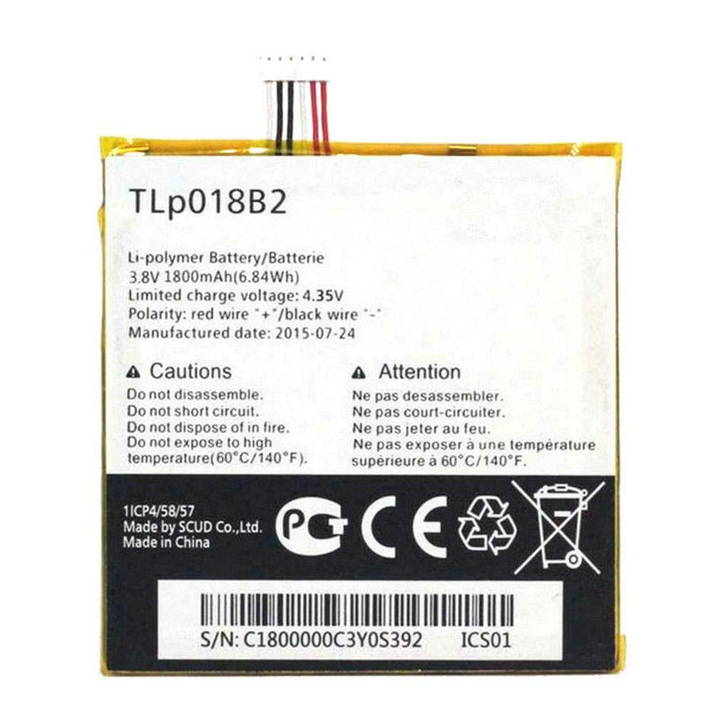 TLP018B2 for Alcatel ONETOUCH Fierce 7024 7024w 7024n Ot-6030a 6030 S820