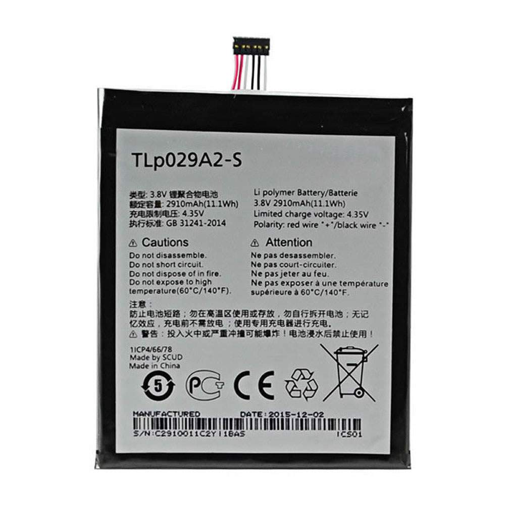 TLP029A2-S for Alcatel One Touch Idol 3 5.5 6045 6045F 6045Y 6045K