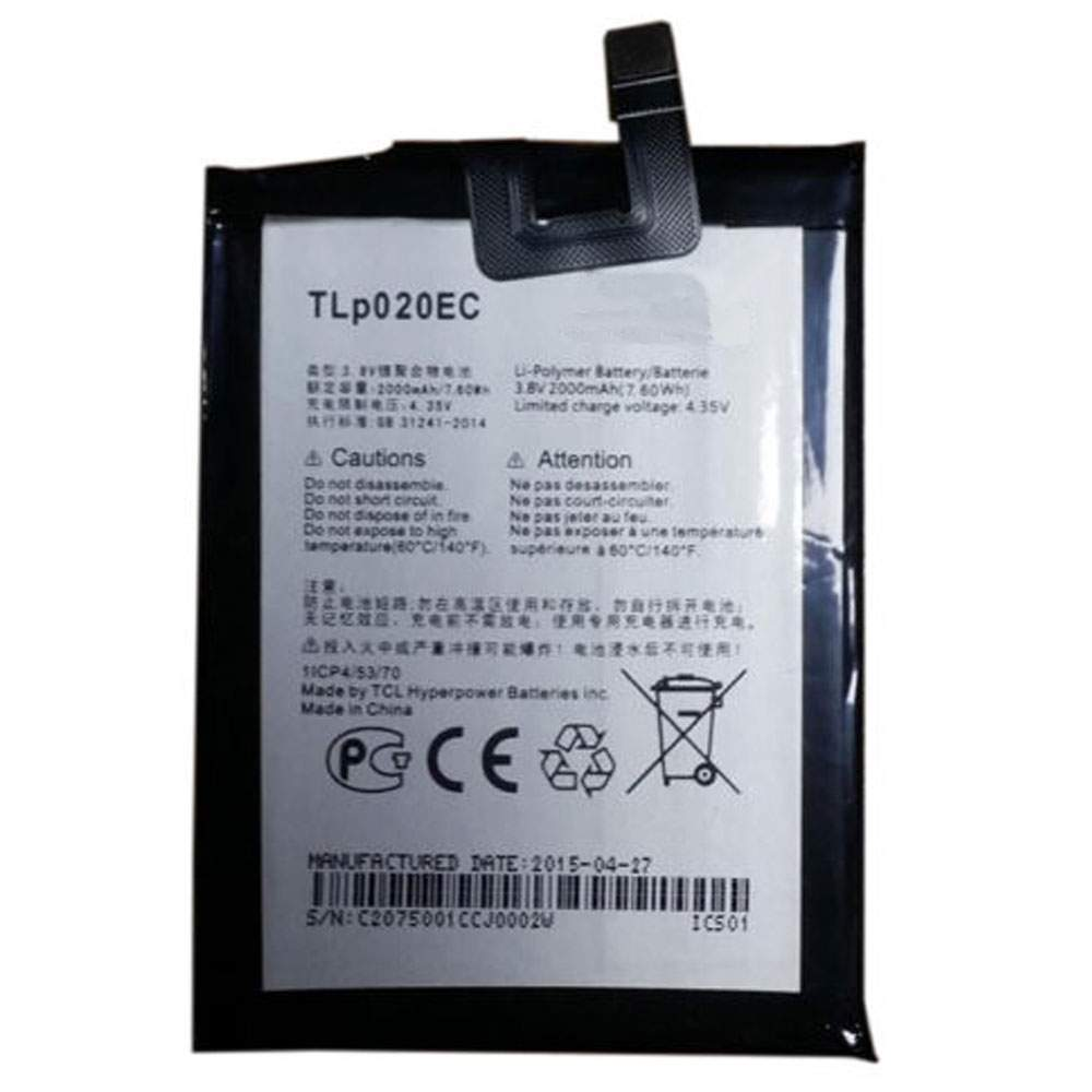 TLp020EC for Alcatel Onetouch