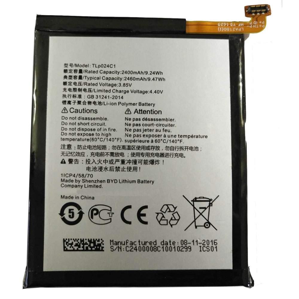 TLP024C1 for Alcatel A3 OT-5046/Shine Lite OT-5080 5080X