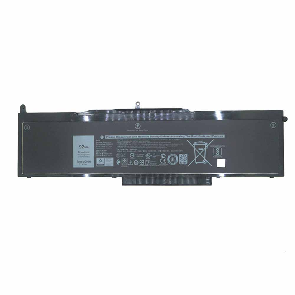 VG93N for DELL Latitude 5580 Precision 15 3520 3530 Series