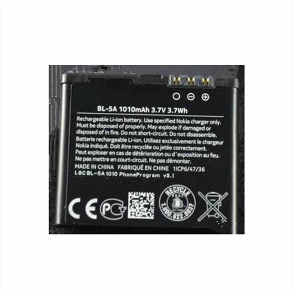 BL-5A for Nokia 502 Asha 502