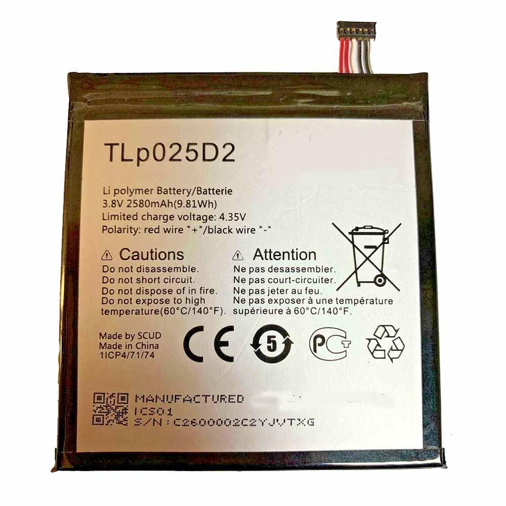 ALCATEL TLp025D2