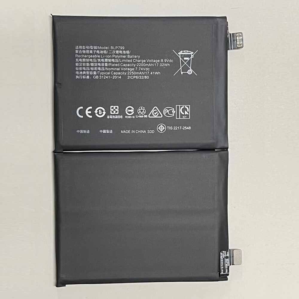 BLP799 pour OPPO realme X7 Pro