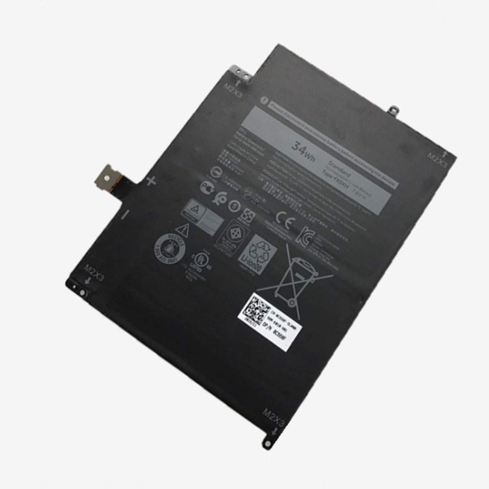 YX0XH for Dell Latitude 7285 Series
