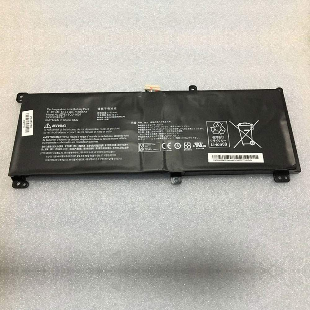 SQU-1609 for THUNDEROBOT 911 dino-x5ta  171415G870-xa70K