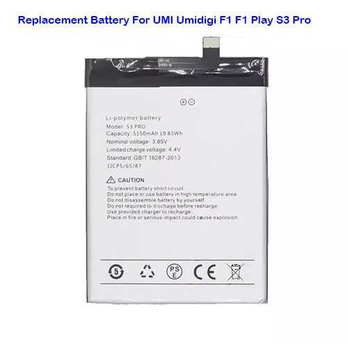 S3pro for UMI Umidigi F1 F1 Play S3 pro Smart
